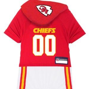 Kansas City Chiefs NFL Dog Pet Onesie Pajamas